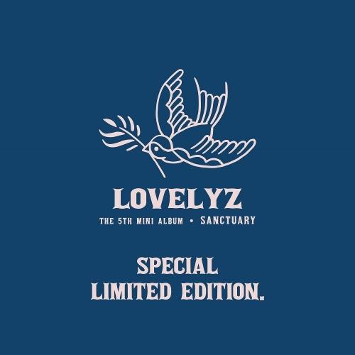 Lovelyz - 5th Mini Album Sanctuary Limited Edition