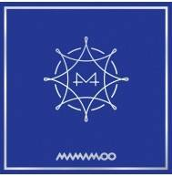 Mamamoo - 8th Mini Album: BLUE:S CD