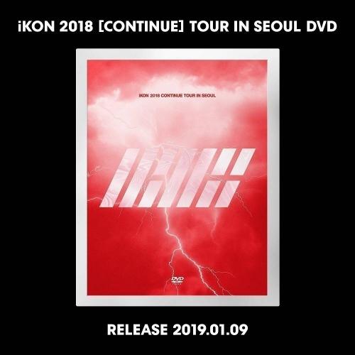 iKON - iKON 2018 Continue Tour in Seoul DVD
