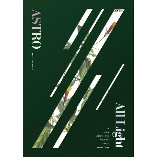 Astro - 1st Album: All Light CD (Green Version)