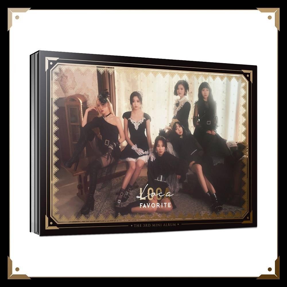 Favorite - 3rd Mini Album LOCA