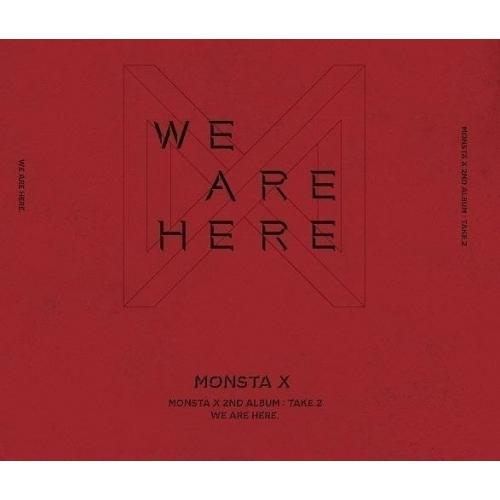 Monsta X - 2nd Album Take 2: We Are Here CD (Random Version)