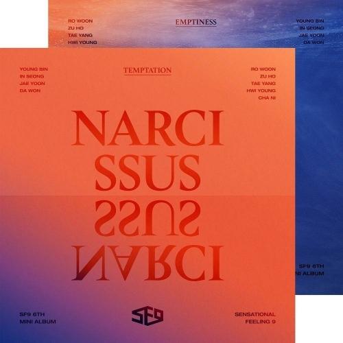 SF9 - 6th Mini Album: NARCISSUS CD (Random Version)