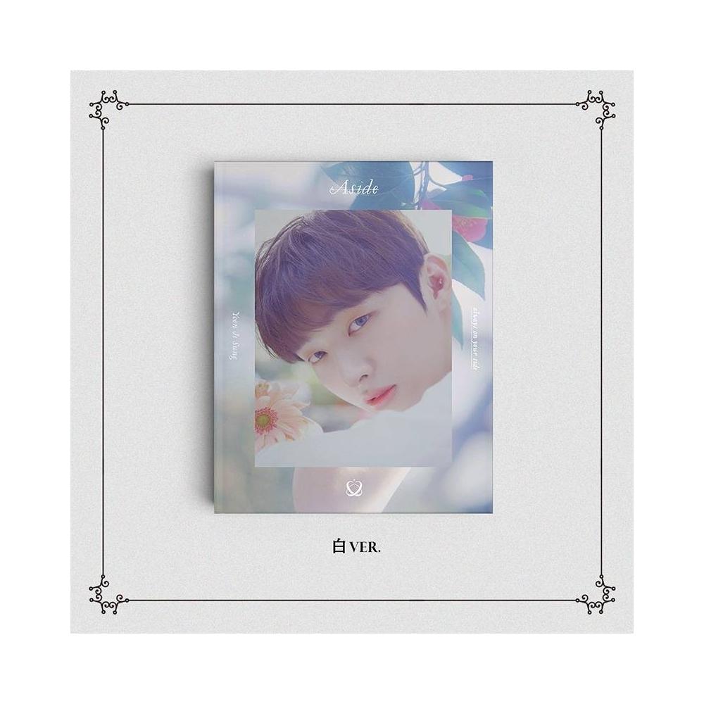YUN JI SUNG - Solo Album Aside (白 Ver. 2)