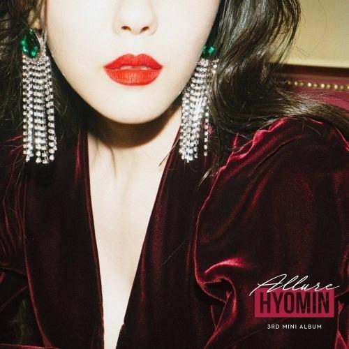 Hyomin (T-ara) - 3rd Mini Album: ALLURE CD