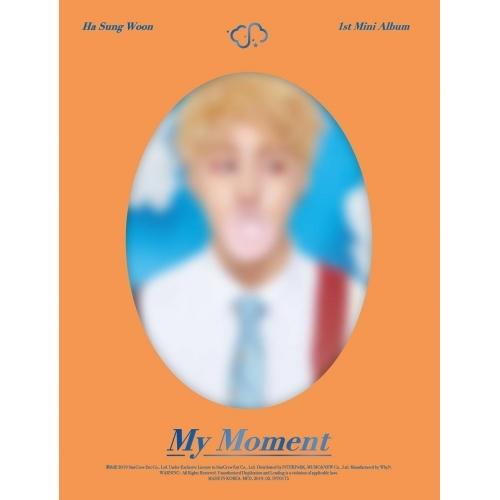 Ha Sung Woon - 1st Mini Album: My Moment CD (Dream version)