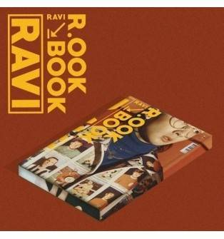 RAVI (VIXX) - 2nd Mini Album: R.OOK BOOK Kihno Album