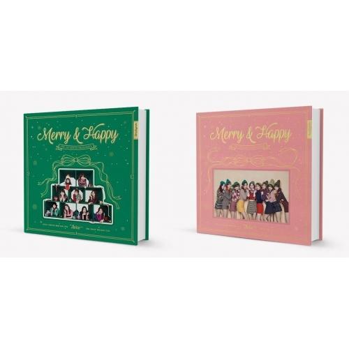 TWICE - 1st Album Repackage Merry & Happy (Random Ver.)