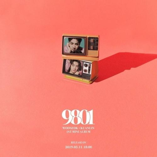 Wooseok x Kuanlin - 1st Mini Album: 9801 CD