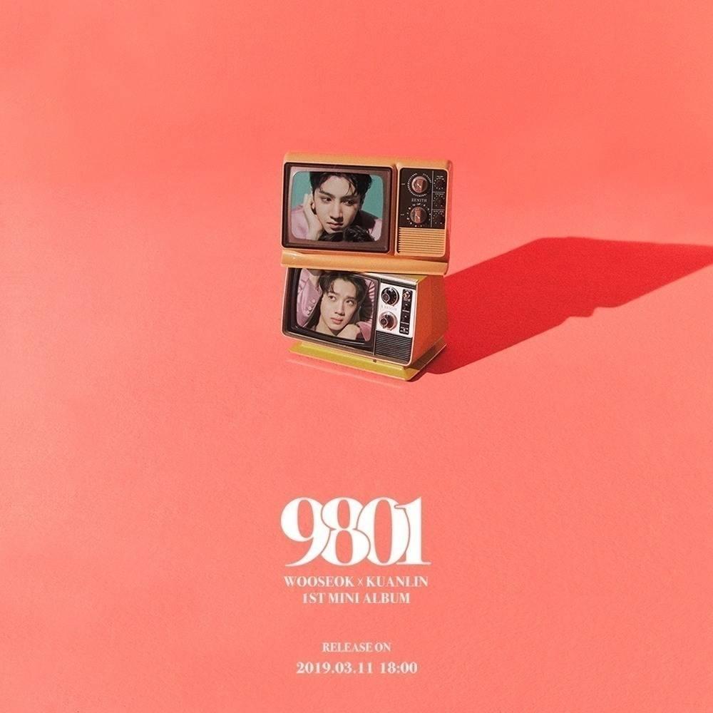 Wooseok x Kuanlin - 1st Mini Album 9801