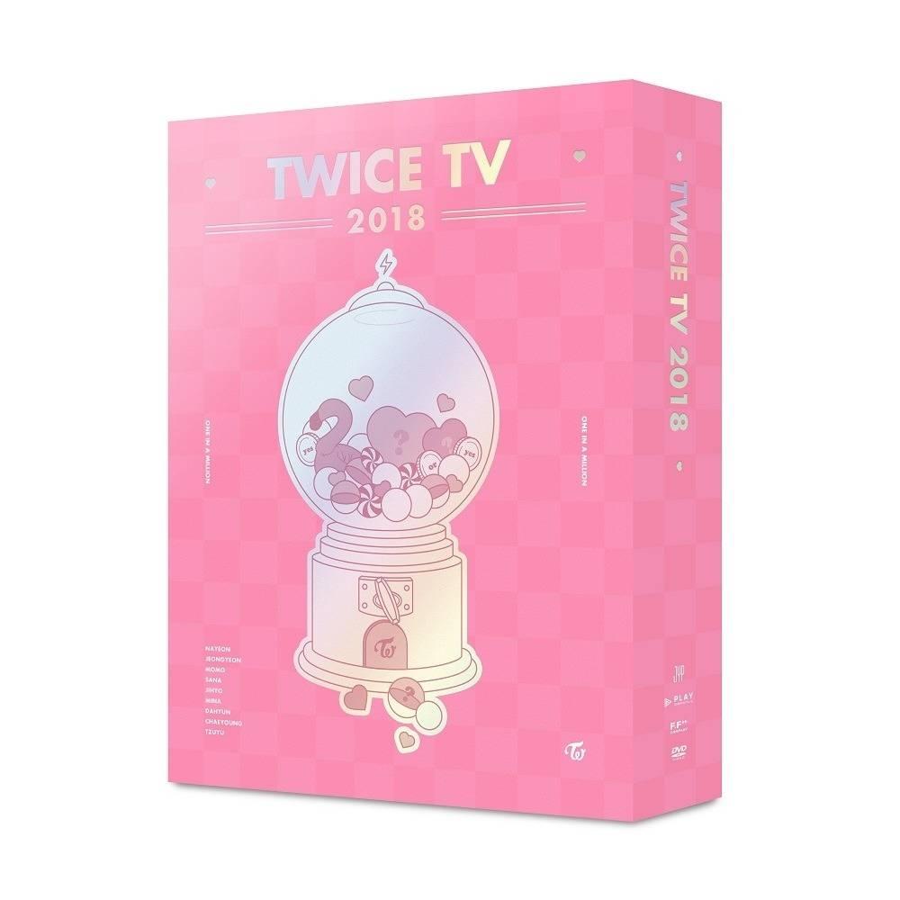 TWICE - TWICE TV 2018 DVD