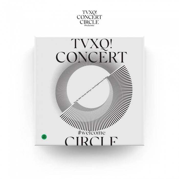 TVXQ! CONCERT -CIRCLE- welcome DVD