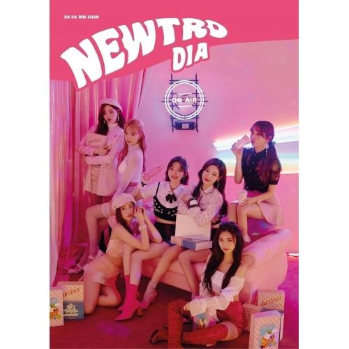 DIA - 5th Mini Album: NEWTRO CD