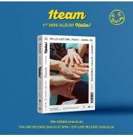 1TEAM - 1st Mini Album: HELLO! CD