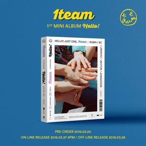 1TEAM - 1st Mini Album: HELLO! CD