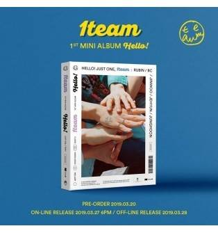 1TEAM - 1st Mini Album HELLO!
