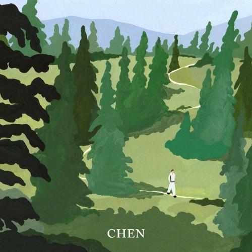 CHEN (EXO) - 1st Mini Album: April, and a flower CD (April Version)