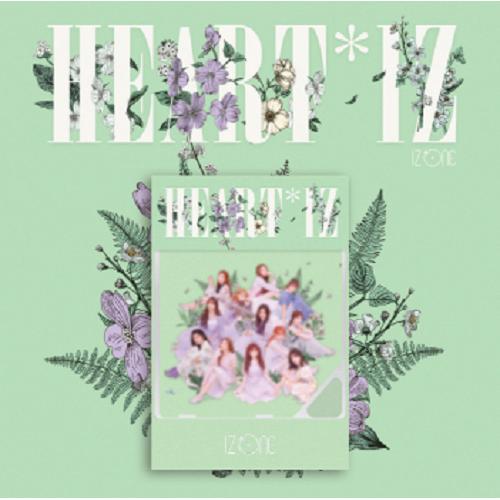 IZ*ONE - 2nd Mini Album HEART*IZ Kihno Album (Violeta Ver)