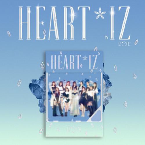 IZ*ONE - 2nd Mini Album HEART*IZ Kihno Album (Sapphire Ver)