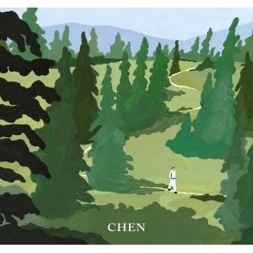 CHEN (EXO) - 1st Mini Album April,, and a flower (Flower Ver.)