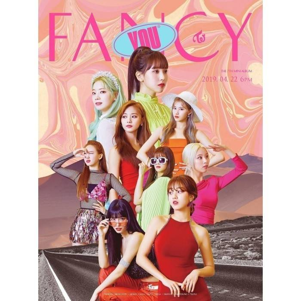 TWICE - 7th Mini Album FANCY YOU
