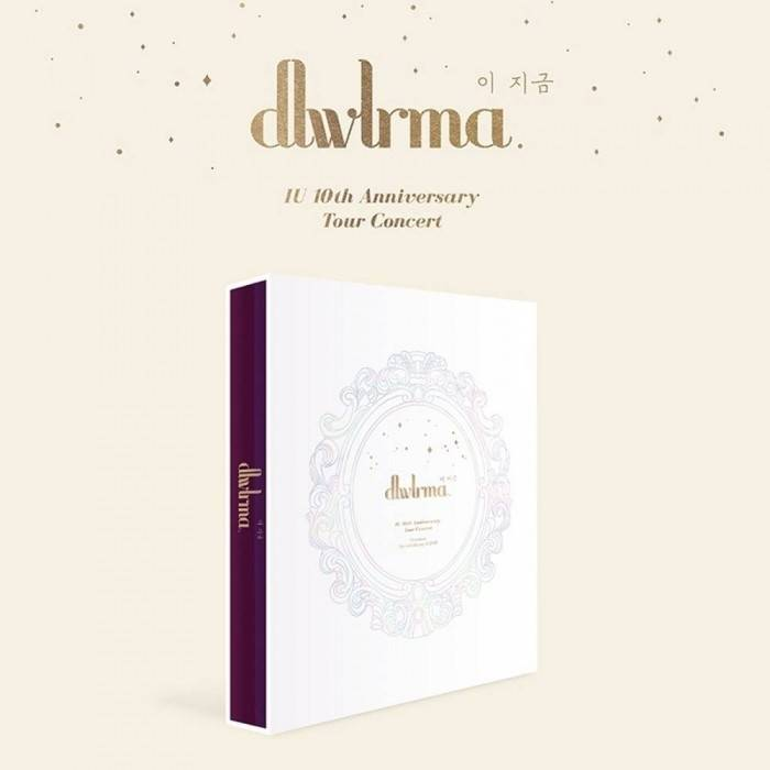 IU - 10th Anniversary Tour Concert Photobook with Special Blu-ray & DVD