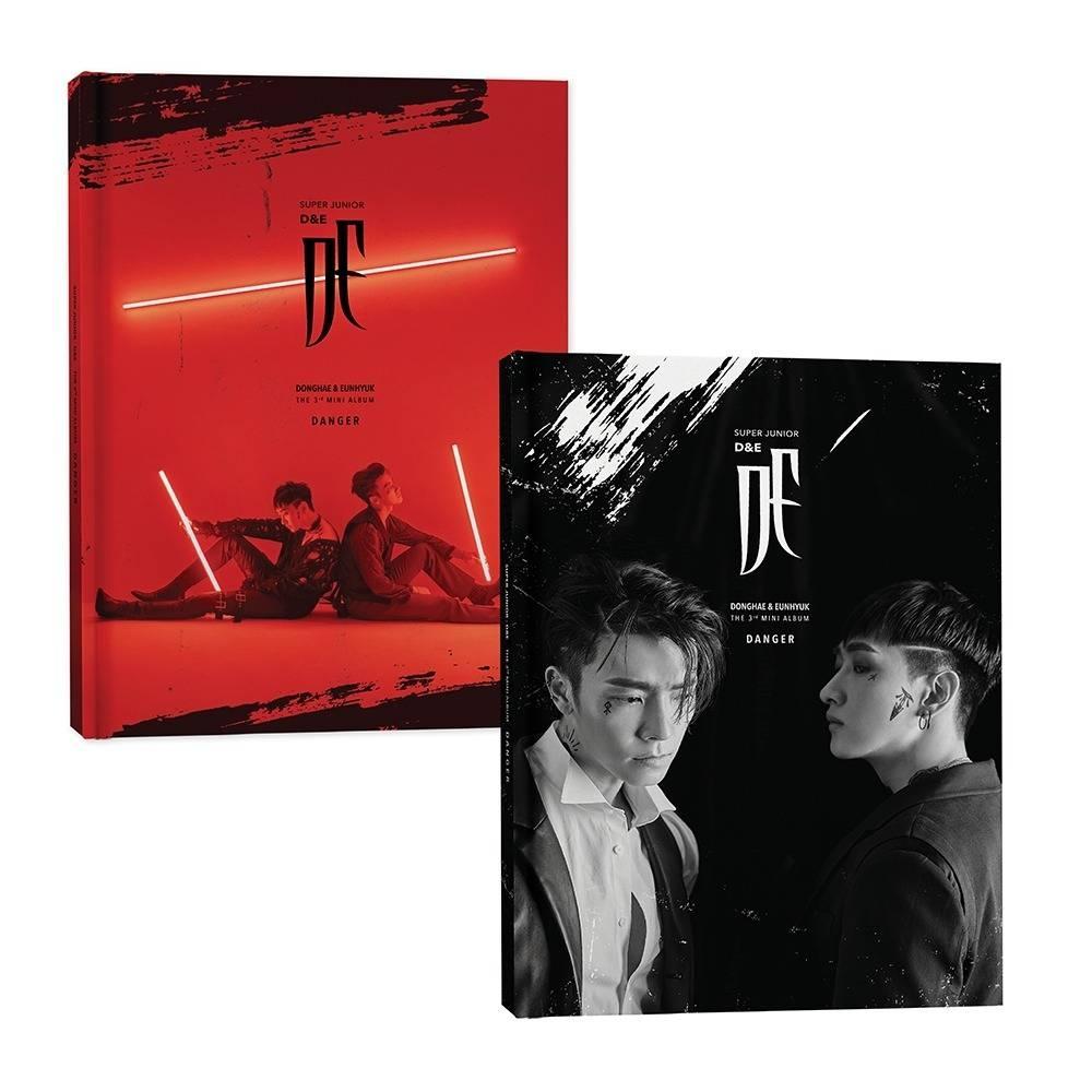 Super Junior D&E - 3rd Mini Album Danger Kihno Album