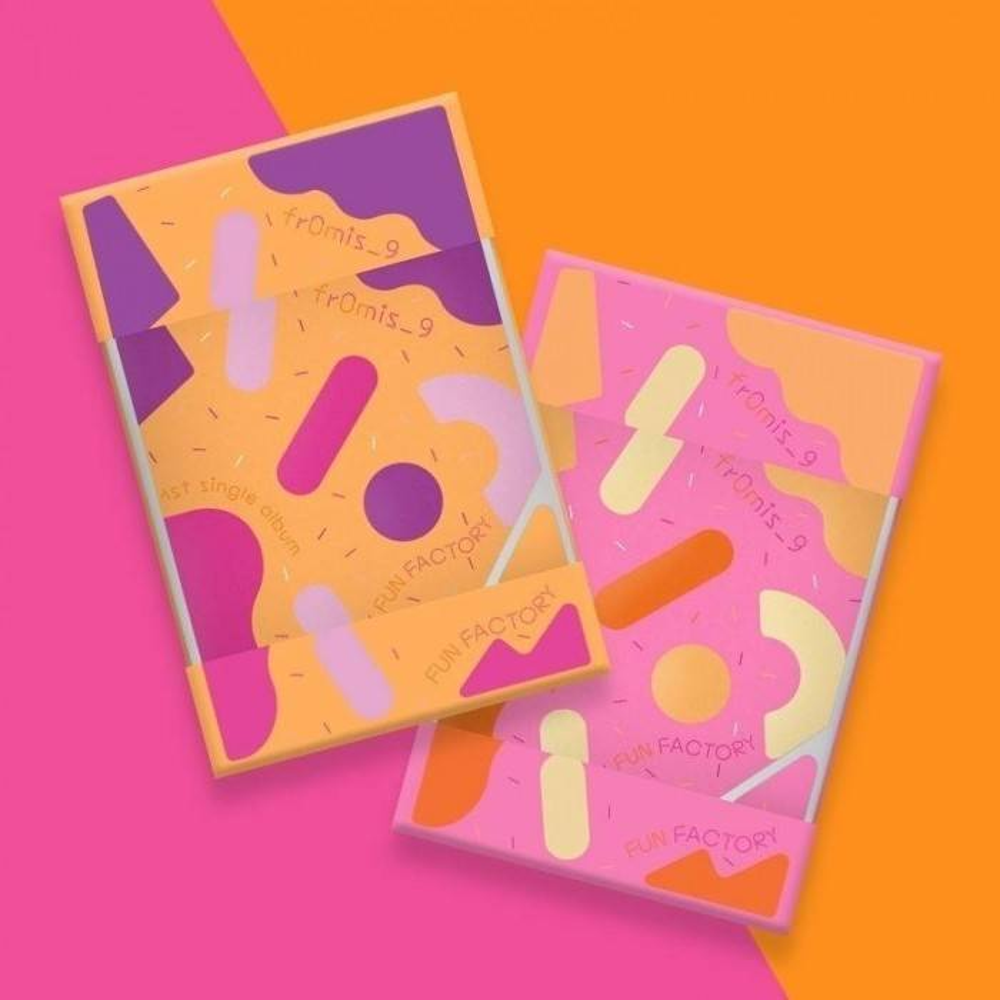 fromis_9 - 1st Single Album FUN FACTORY Kihno Album
