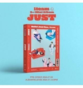 1TEAM - 2nd Mini Album: Just CD