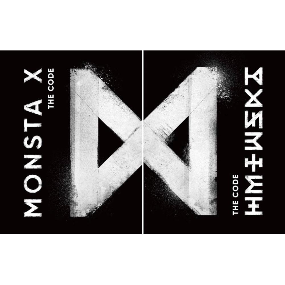 Monsta X - 5th Mini Album The Code (Random Ver.)