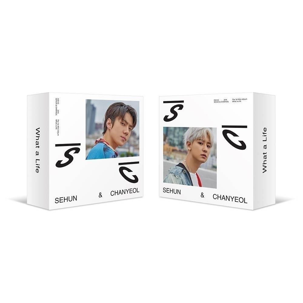 EXO-SC - 1st Mini Album What a life Kihno Album
