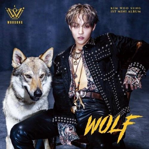 Kim Woo Sung (The Rose) - 1st Mini Album: Wolf CD