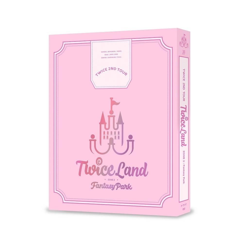 TWICE - TWICE 2ND TOUR TWICELAND ZONE 2:Fantasy Park DVD