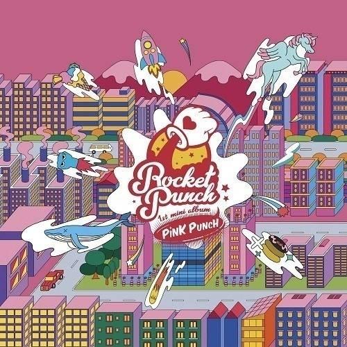 Rocket Punch - 1st Mini Album: Pink Punch CD