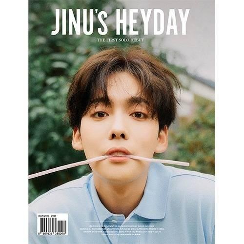 JINU - 1st Single Album JINU's HEYDAY (Random Ver.)