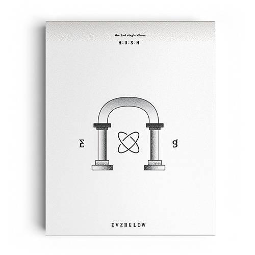 EVERGLOW - 2nd Single Album: Hush CD