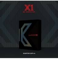 X1 - 1st Mini Album: Quantum Leap CD (Quantum Leap Version, 2nd Press)