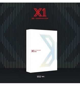 X1 - 1st Mini Album: Quantum Leap CD (비상 Version, 2nd Press)