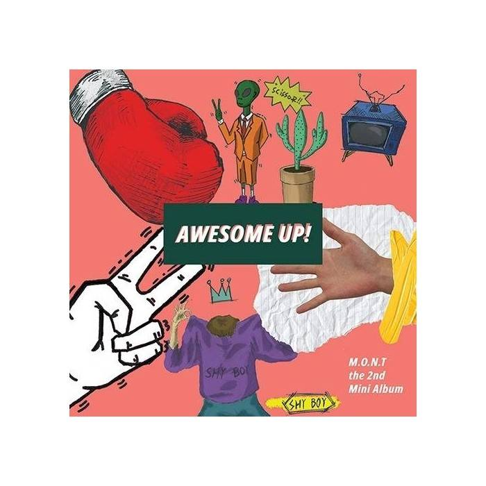 M.O.N.T - 2nd Album AWESOME UP!