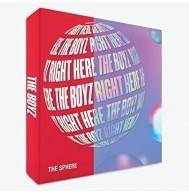 THE BOYZ - 1st Mini Album: THE SPHERE CD (Rancom Version)