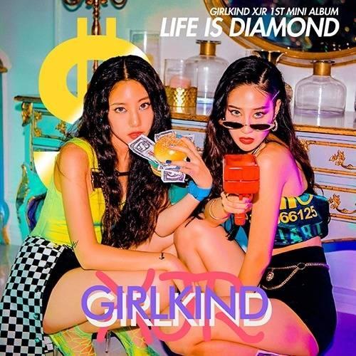 Girlkind XJR - 1st Mini Album Life is Diamond