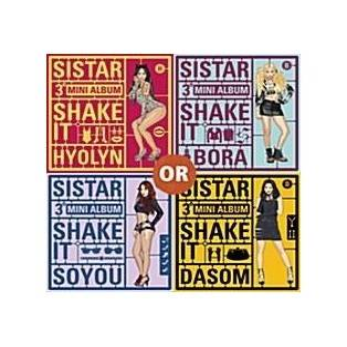Sistar - 3rd Mini Album Shake It