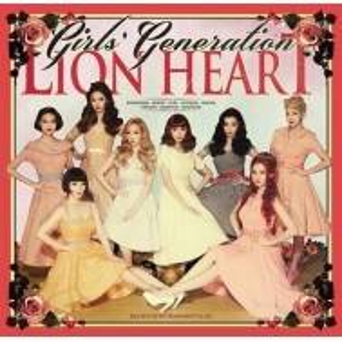 Girls' Generation - 5th Album Lion Heart