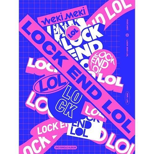 Weki Meki - 2nd Single Album LOCK END LOL (Random Ver.)