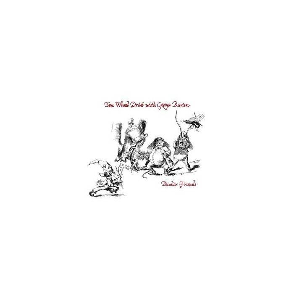 Ten Wheel Drive With Genya Ravan - Peculiar Friends Mini LP CD