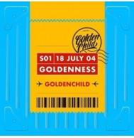 Golden Child - 1st Single Album: Goldenness CD (Random Version)
