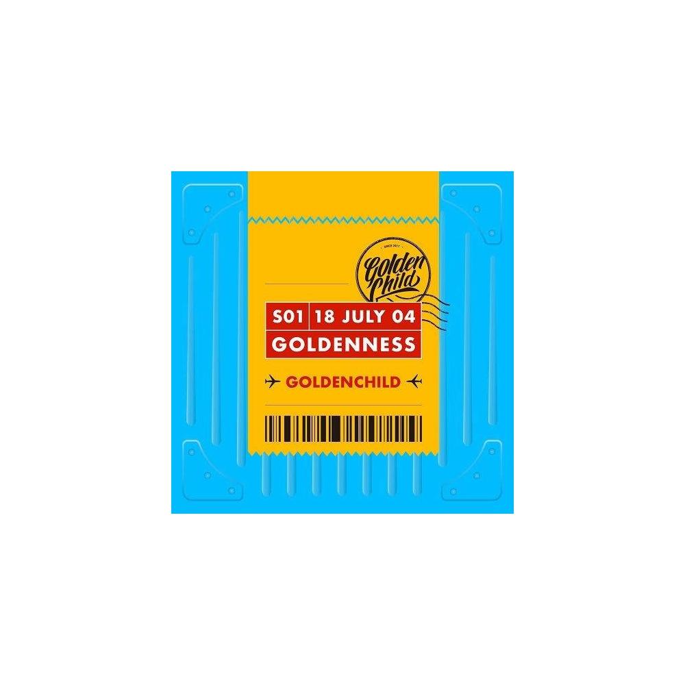 Golden Child - 1st Single Album Goldenness (Random Ver.)