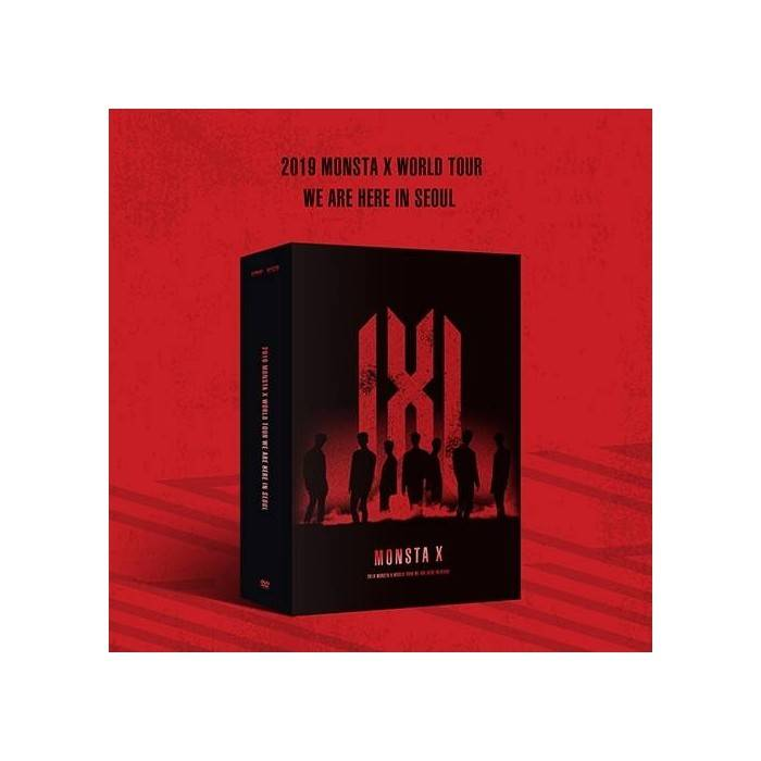 Monsta X - 2019 Monsta X World Tour We Are Here In Seoul DVD