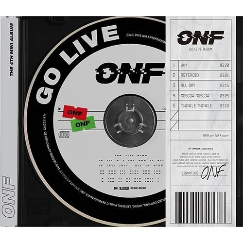 ONF - 4th Mini Album GO LIVE