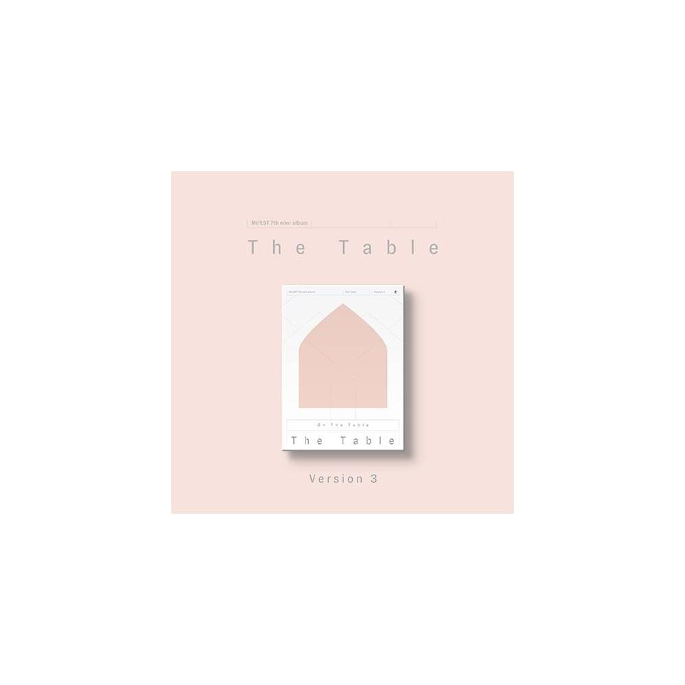 Nu'est - 7th Mini Album The Table (Ver. 3)